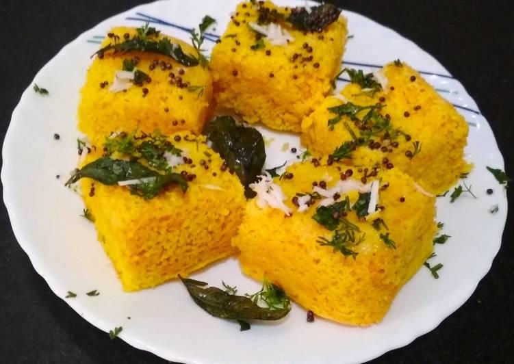 Microwave Dhokla