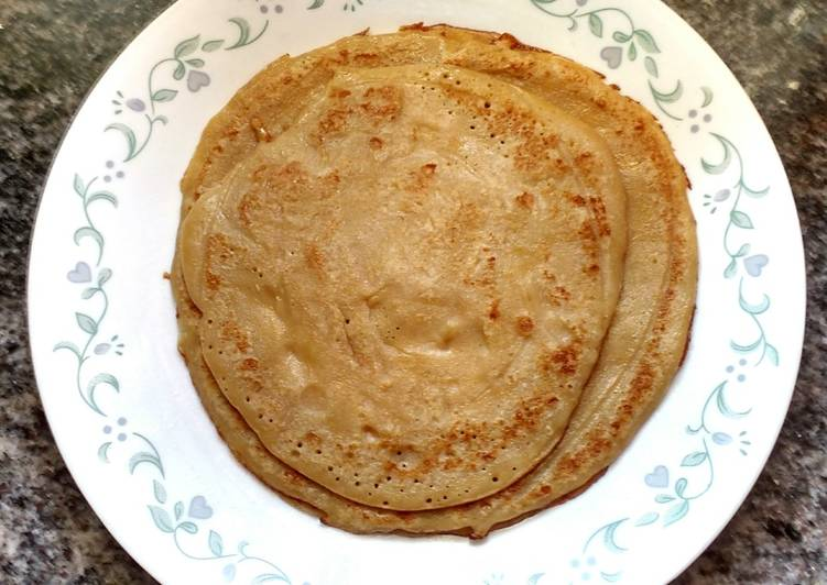 Grandmother's Dinner Ideas Ultimate Wheat and Jaggery Dosa