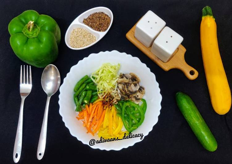 25 Minute Step-by-Step Guide to Prepare Cooking Bibimbap bowl