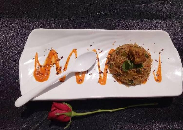 Easiest Way to Prepare Favorite Soya chaap Fried Rice