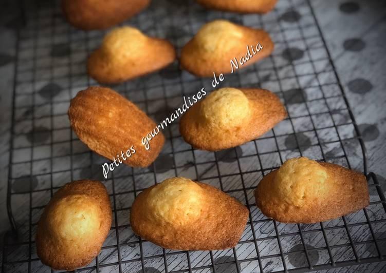Voilà de délicieuses madeleines on se rapproche des madeleines de Commercy 😋😋😋😋