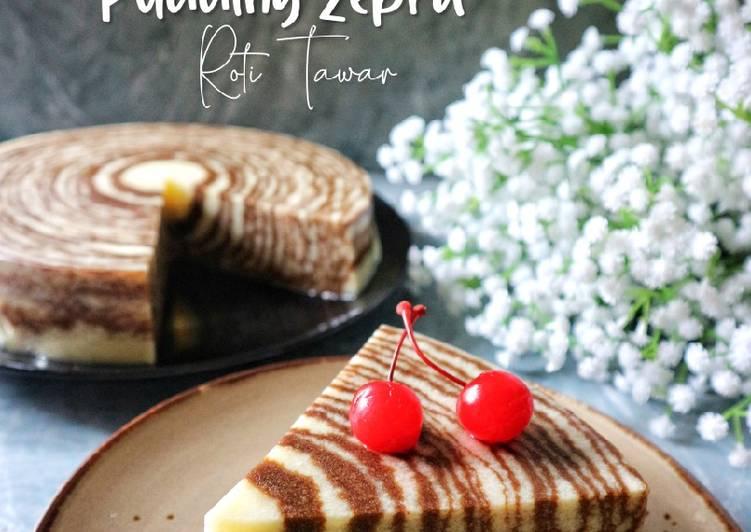 Pudding Zebra Roti Tawar