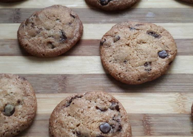 Chocolate chip cookie anna olson No Mixer