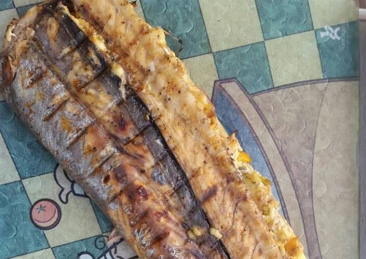 Recipe of Award-winning Stuffed Snoek on the Braai