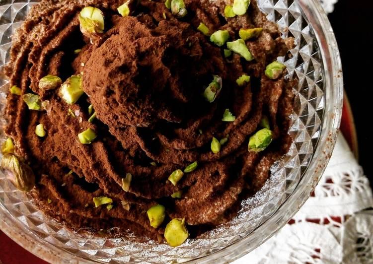 Ricetta Mousse veg al cioccolato