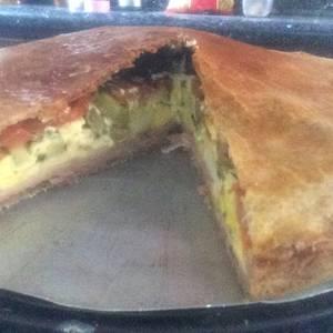 Torta Chivito para gente ocupada rapidísima