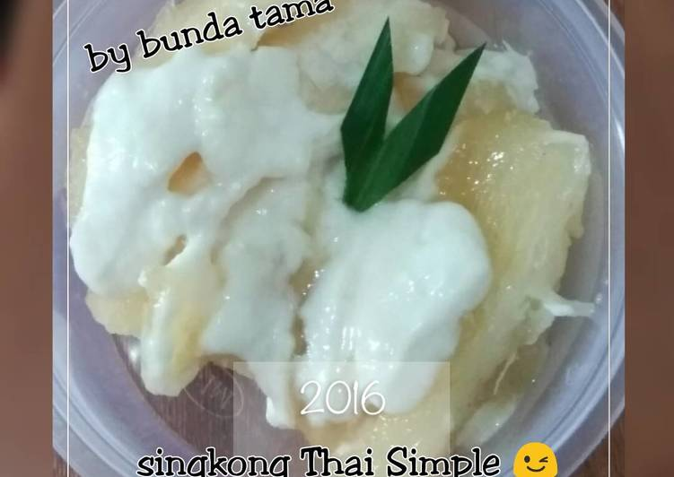 Singkong Thai simple - cookandrecipe.com