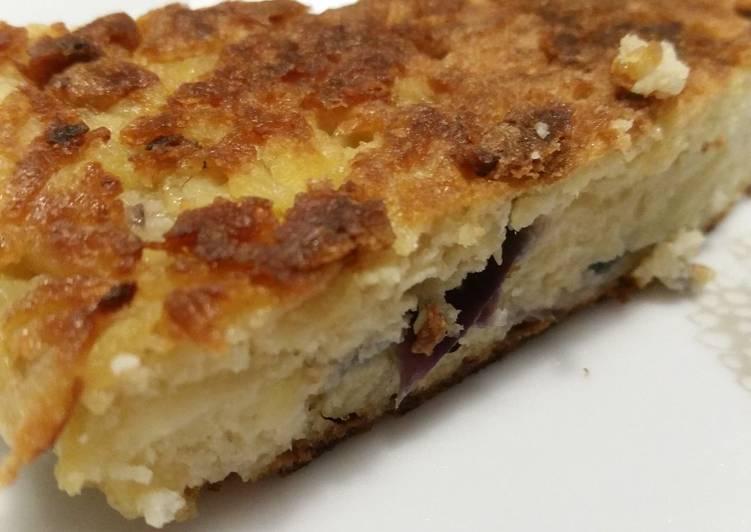 Spanisches Omelett mit Kartoffeln