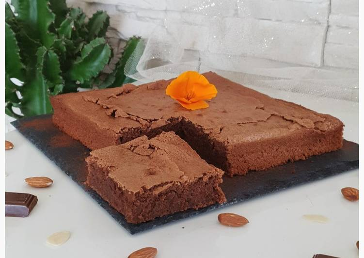 Recipe of Super Quick Homemade Fondant au chocolat, sans gluten & sans lactose