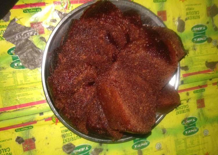 resep bikin Bolu karamel sarang semut kukus - Sajian Dapur Bunda