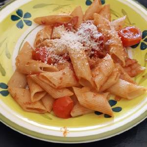 Penne rigate all'amatriciana