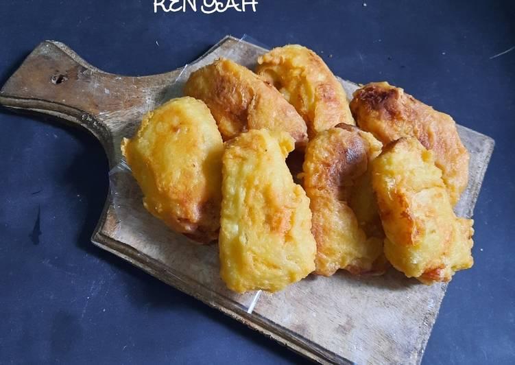 Resep Pisang goreng renyah Anti Gagal