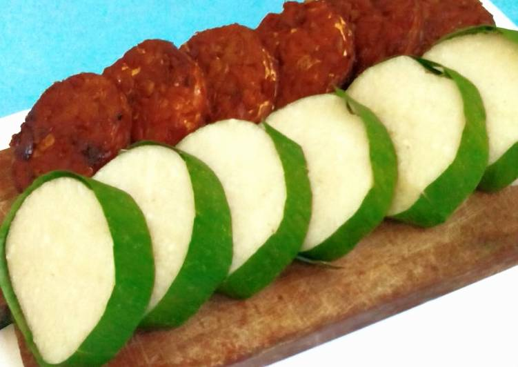 Resep Jadah Ketan Tempe Bacem Makanan Jadul Oleh Queen Lathifah