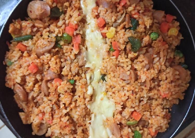 Cara Memasak Kimchi Bokkeumbap (Nasi Goreng Kimchi) bunda pasti bisa