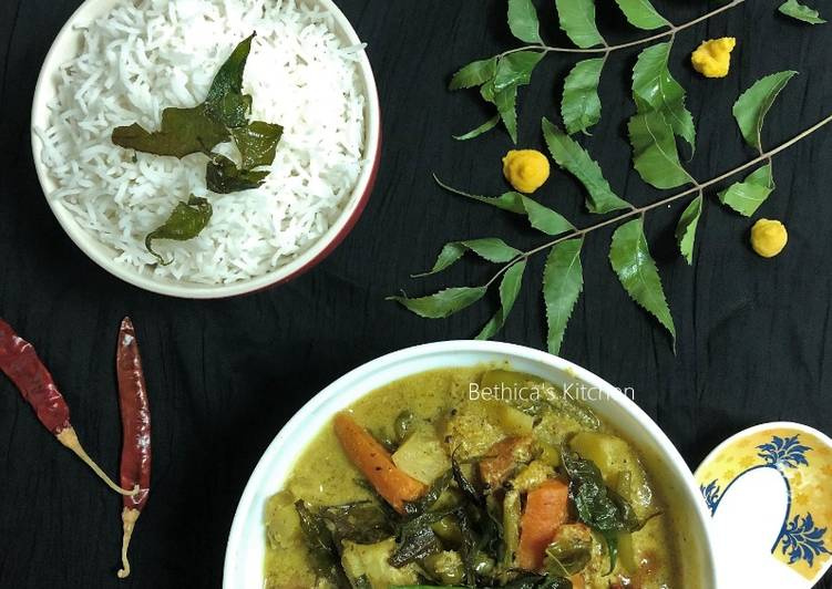 Quick Tips Neem Shukto (Mixed Veg. Curry with Neem Leaves)