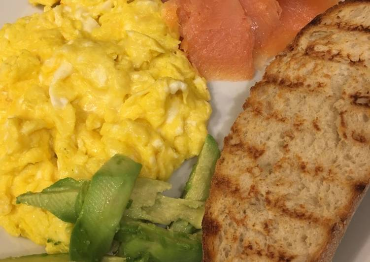 Steps to Prepare Speedy Scrambled egg breakfast