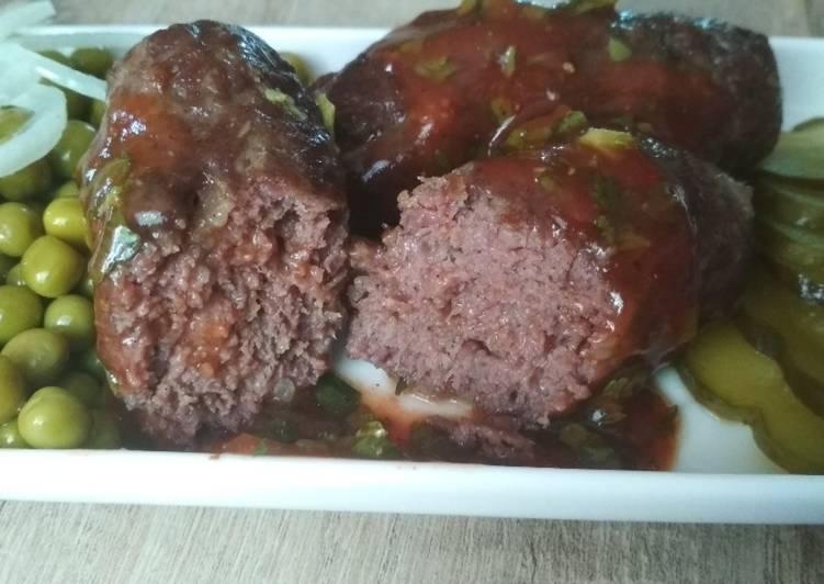Мясные колбаски мититеи для пикника