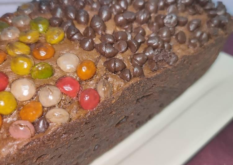 123. Fudgy Brownies Chocochips Takaran Sendok