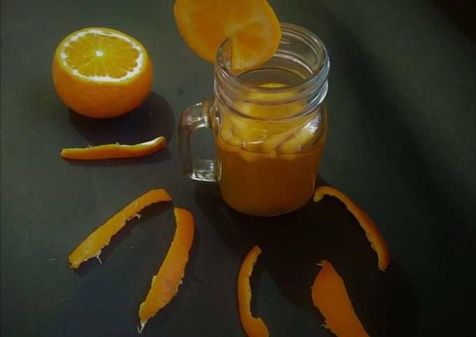 Orange Peel Green Tea