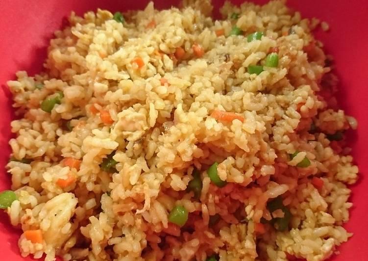 Nasi Goreng Udang Sayur