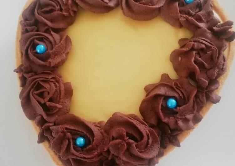 Tarte passion chocolat