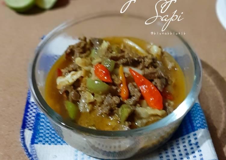 Tongseng Sapi (ala-ala, enggak seriusan)
