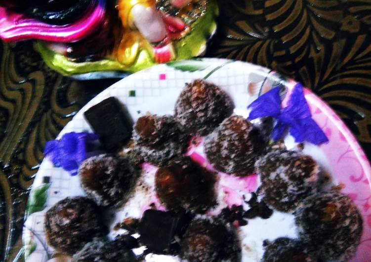 Choco Coconut Modak (Ganesh Puja Special (Modak)Without Mould