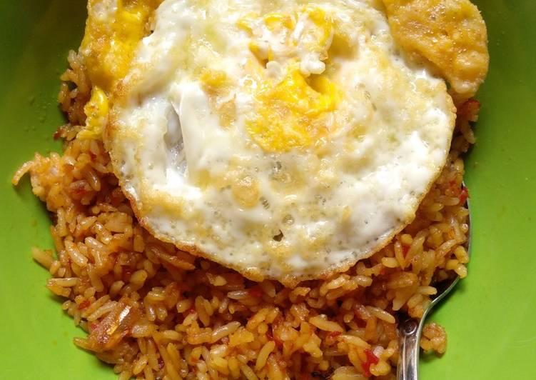 Nasi Goreng Teri (Simple Recipe)