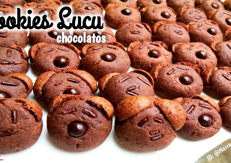 Cookies lucu chocolatos