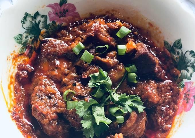 Sup kambing Merah