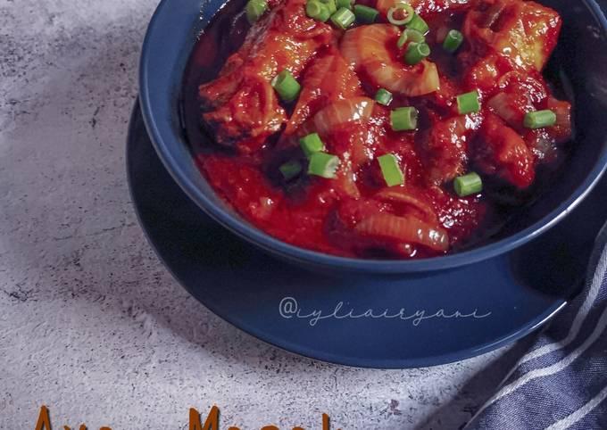 Ayam Masak Merah Semudah ABC