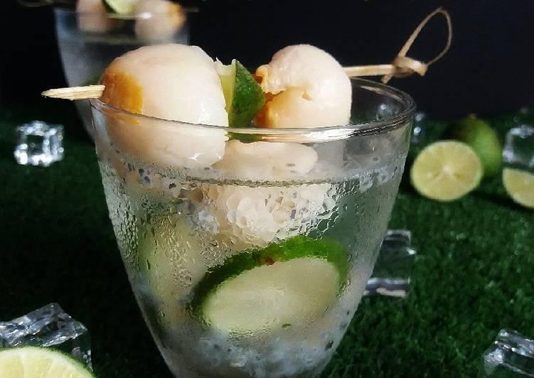 Air Limau Laici Masam Manis #MaratonRaya #Minuman #Minggu2 - resepipouler.com