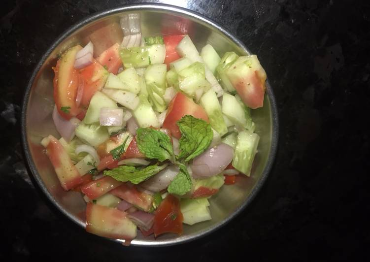 Recipe of Perfect Salad-