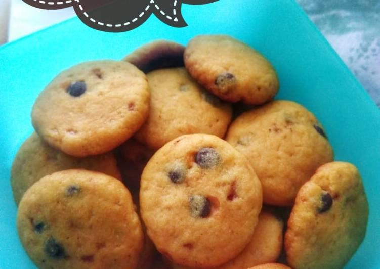 Chewy Choco Chips Cookies Teflon