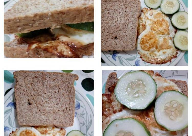 Steps to Make Quick Healthy Wheat Bread Breakfast