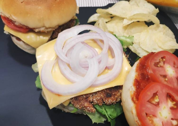 Beetroot Burger patty