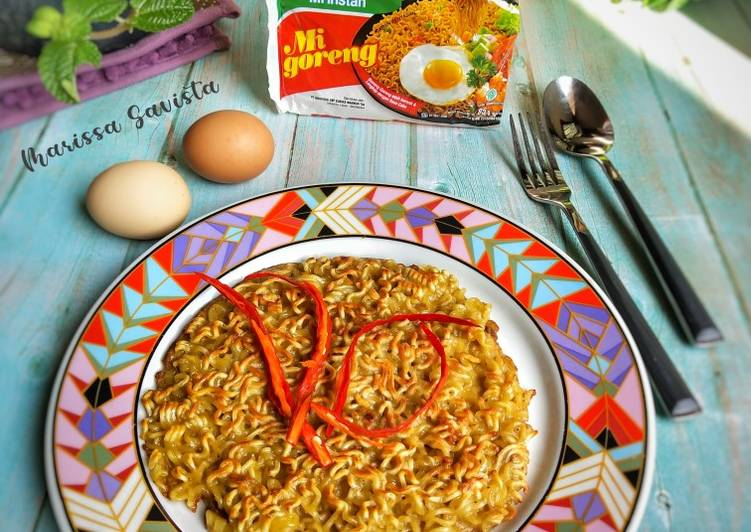 Resep 102. Omlette Indomie Top