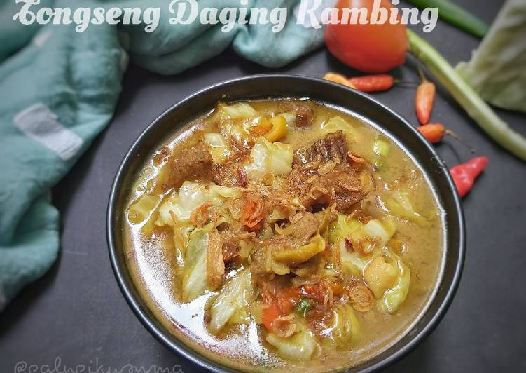 Tongseng Daging Kambing - cookandrecipe.com