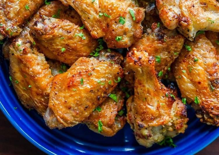 Kepak Ayam Air Fry - resepipouler.com