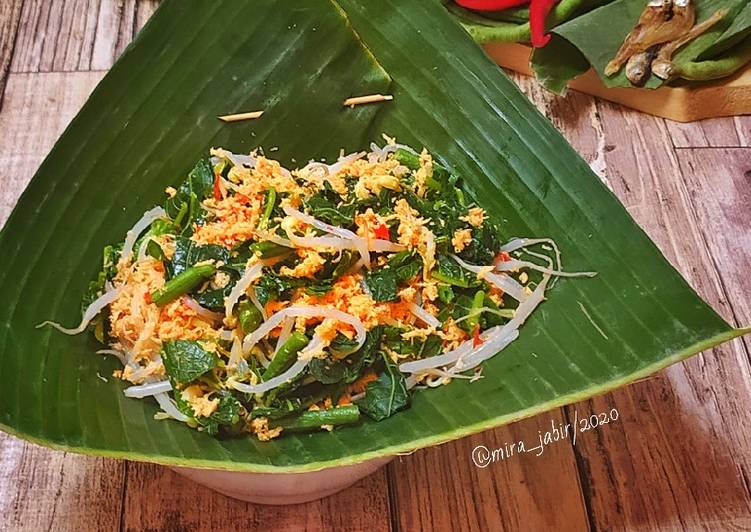 Anyang Sayur || Urap Khas Minang