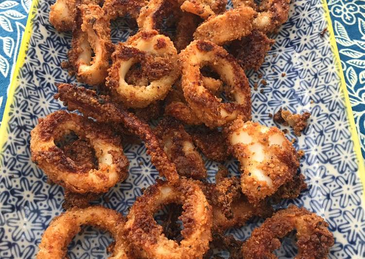 The Foods You Pick To Eat Will Effect Your Health Oven 'fried' squid