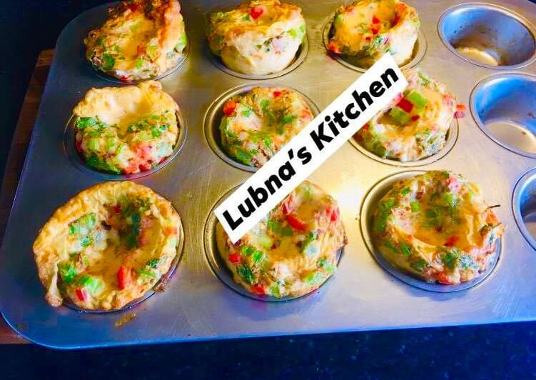 Recipe of Any-night-of-the-week EGGMuffins
