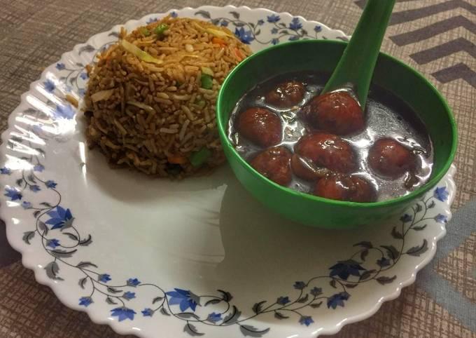 Fried Rice Manchurian