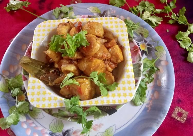 10 Minute Recipe of Summer Crispy Arbi ki Sabzi