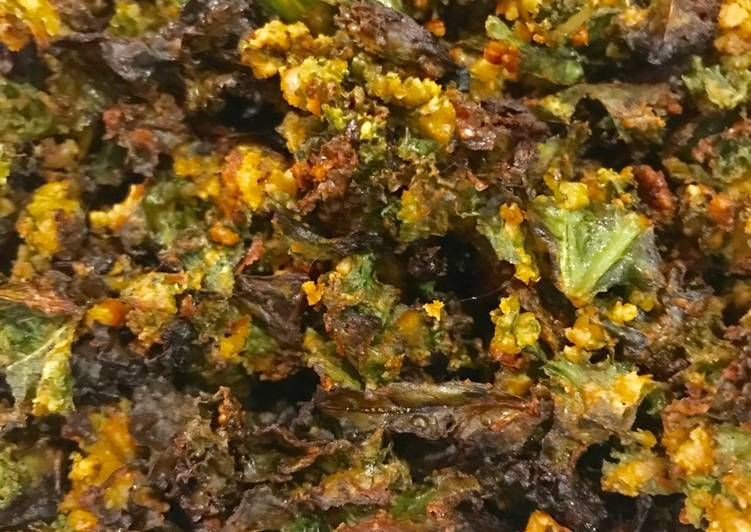 Easiest Way to Prepare Favorite Nutty Kale Crisps