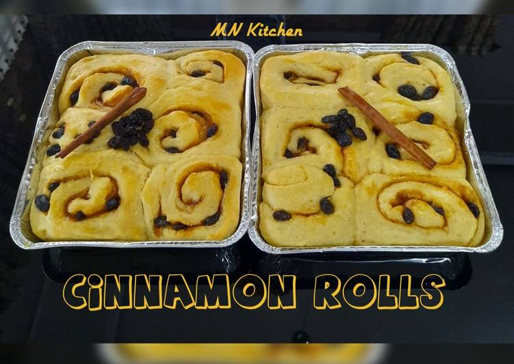 Cinnamon rolls lembut