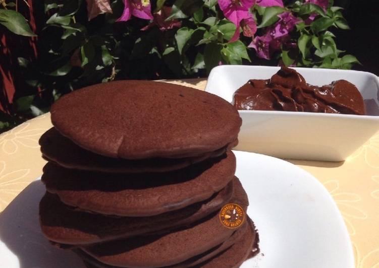 Pancake senza latte e derivati - senza glutine