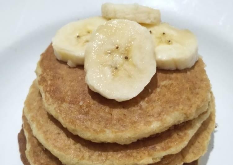Cara membuat Pancake Oatmeal Pisang untuk Diet