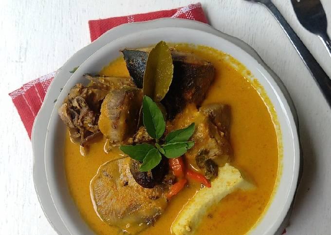 Gulai Ikan Tuna & Tahu