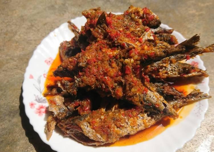 Ikan serai balado | sambal ikan laut merah